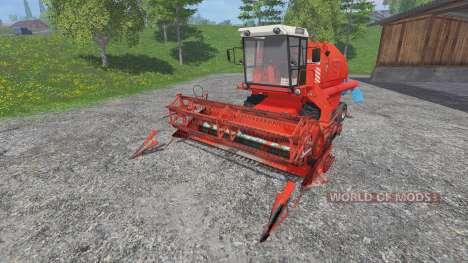 Bizon Z058 [record] для Farming Simulator 2015