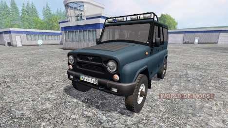 УАЗ-315195 Хантер v4.0 для Farming Simulator 2015
