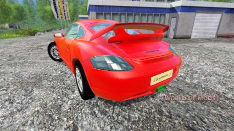 Porsche Cayman для Farming Simulator 2015