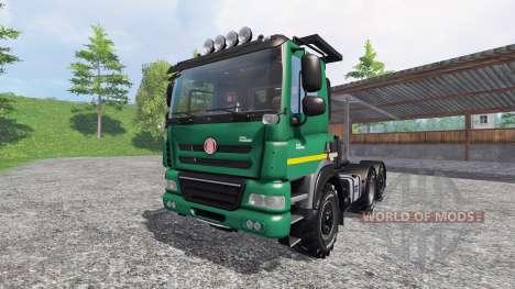 Tatra Phoenix T 158 6x6 [AgroTruck] для Farming Simulator 2015
