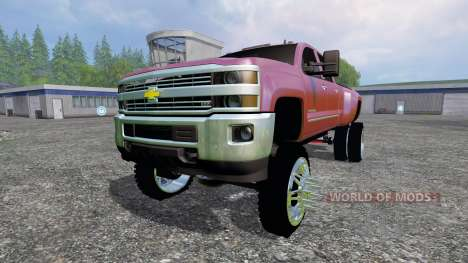 Chevrolet Silverado 3500 [lift] для Farming Simulator 2015