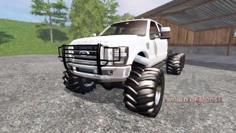 Ford F-350 8x8 для Farming Simulator 2015
