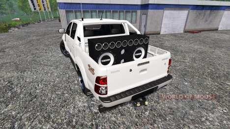 Toyota Hilux [city version] для Farming Simulator 2015