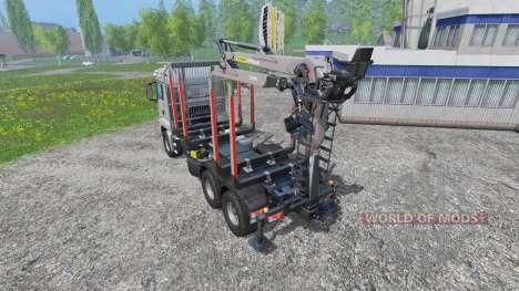 MAN TGS 18.440 [forestry] v2.0 для Farming Simulator 2015