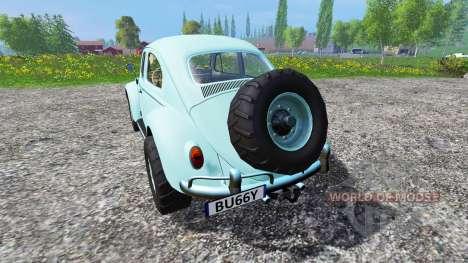 Volkswagen Beetle 1966 v2.0 [buggy] для Farming Simulator 2015