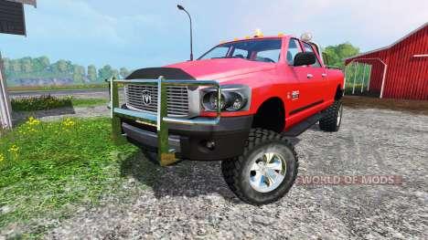 Dodge Ram 2500 Heavy Duty v1.5 для Farming Simulator 2015