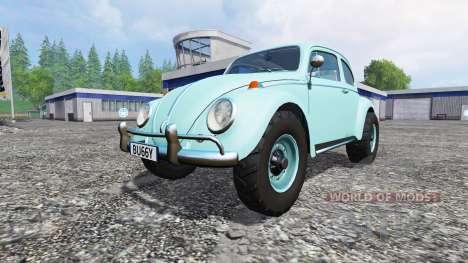 Volkswagen Beetle 1966 v1.2 [buggy] для Farming Simulator 2015
