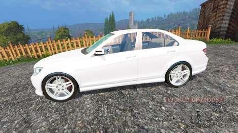 Mercedes-Benz C350 CDI для Farming Simulator 2015