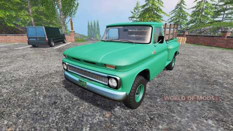 Chevrolet C10 Fleetside 1966 [custom] для Farming Simulator 2015