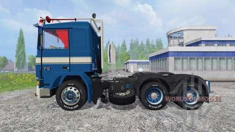 Volvo F12 для Farming Simulator 2015