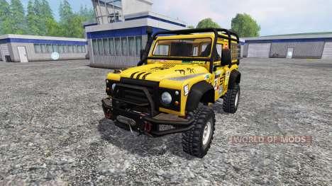 Land Rover Defender 90 для Farming Simulator 2015