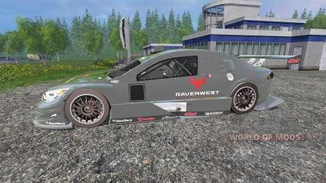 Chevrolet Impala SS NASCAR [Ravenwest] для Farming Simulator 2015