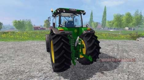 John Deere 7280R v4.0 для Farming Simulator 2015