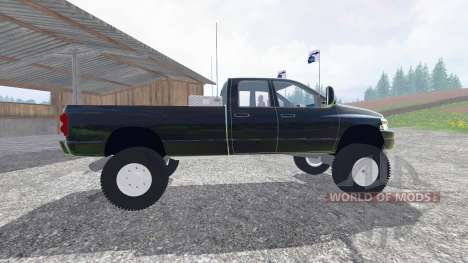 Dodge Ram 3500 2007 [wide stance] v2.0 для Farming Simulator 2015