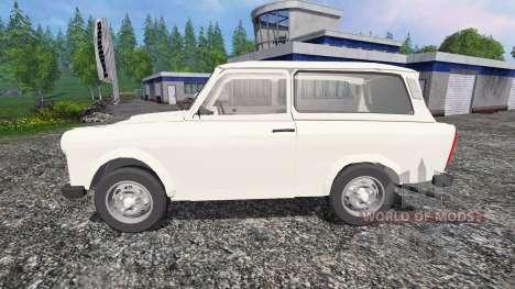 Trabant 601 S v0.5 для Farming Simulator 2015