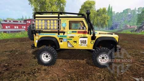 Land Rover Defender 90 v2.0 для Farming Simulator 2015