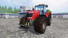 Massey Ferguson 7626 v1.8 для Farming Simulator 2015