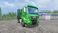 MAN TGS mobile chipper v1.0