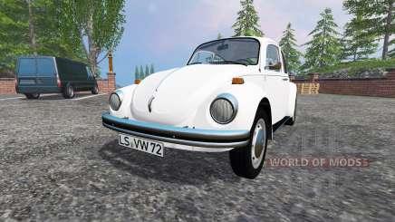 Volkswagen Beetle 1973 v2.0 для Farming Simulator 2015