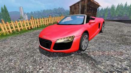 Audi R8 Spyder для Farming Simulator 2015