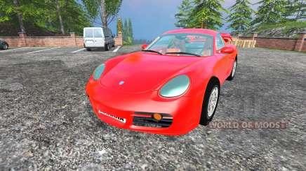 Porsche Cayman [final] для Farming Simulator 2015