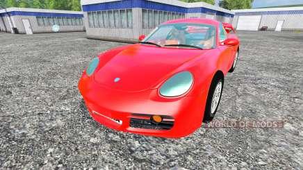Porsche Cayman для Farming Simulator 2015