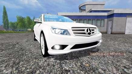 Mercedes-Benz C350 CDI v1.1 для Farming Simulator 2015