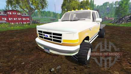 Ford F-150 XL 1992 [flatbed] для Farming Simulator 2015