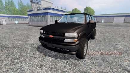 Chevrolet Suburban [custom] для Farming Simulator 2015