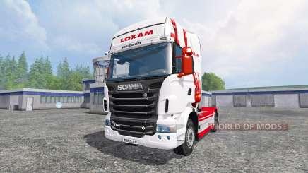 Scania R560 [loxam] для Farming Simulator 2015