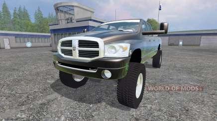 Dodge Ram 3500 2007 [wide stance] v1.2 для Farming Simulator 2015