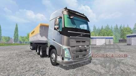 Volvo FH16 2012 [trailer] для Farming Simulator 2015