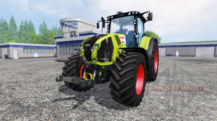 CLAAS Axion 850 v1.2 для Farming Simulator 2015