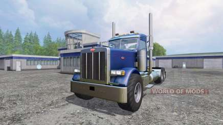 Peterbilt 379 [daycab truck] для Farming Simulator 2015
