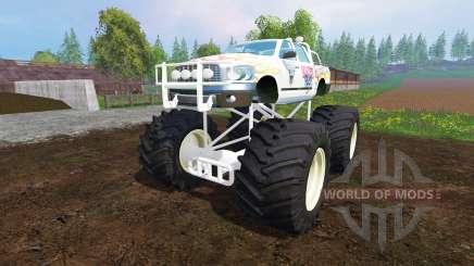 PickUp Monster Truck Jam для Farming Simulator 2015