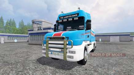 Scania T164 [tanker] для Farming Simulator 2015