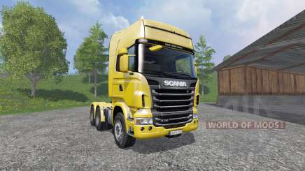 Scania R730 [Lux] для Farming Simulator 2015
