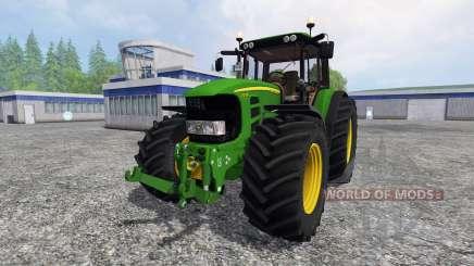 John Deere 7530 Premium v3.0 для Farming Simulator 2015