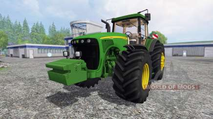 John Deere 8520 v2.5 для Farming Simulator 2015
