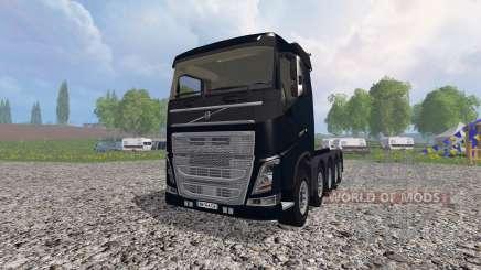 Volvo FH10x4 [heavy duty] v1.1 для Farming Simulator 2015
