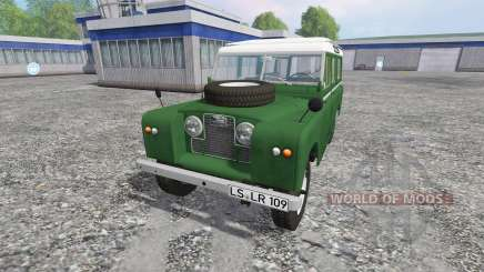 Land Rover Series IIa Station Wagon для Farming Simulator 2015