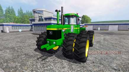 John Deere 8440 v1.1 для Farming Simulator 2015