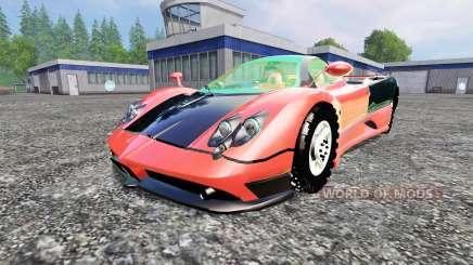 Pagani Zonda v1.2 для Farming Simulator 2015