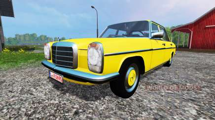 Mercedes-Benz 200D (W115) 1973 v1.2 для Farming Simulator 2015
