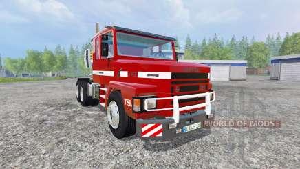 Scania 143H для Farming Simulator 2015