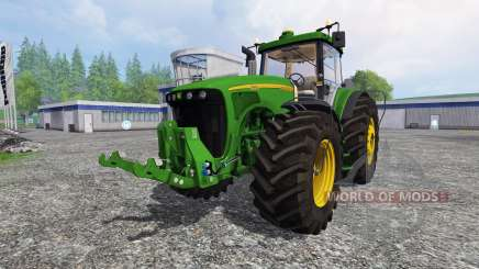 John Deere 8220 v2.5 для Farming Simulator 2015