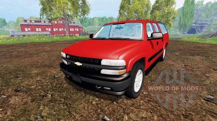 Chevrolet Suburban [pack] для Farming Simulator 2015
