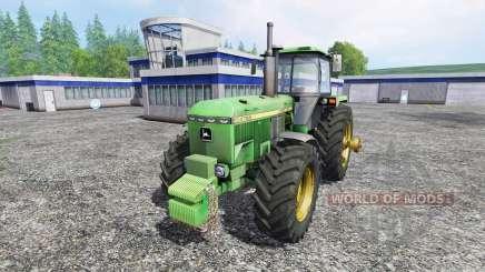 John Deere 4755 v2.0 для Farming Simulator 2015
