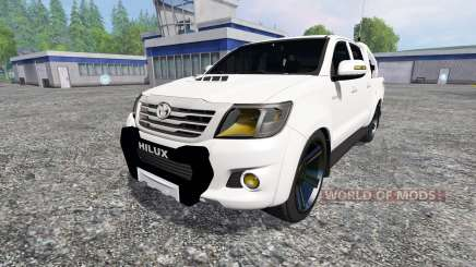 Toyota Hilux [city version] v1.2 для Farming Simulator 2015