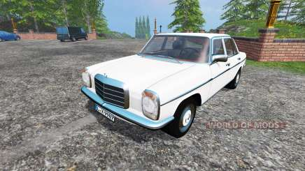 Mercedes-Benz 200D (W115) 1973 v1.5 для Farming Simulator 2015